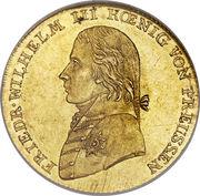 1 Friedrich d'Or - Friedrich Wilhelm III. – obverse