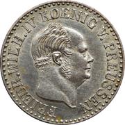 ½ Silber Groschen - Friedrich Wilhelm IV – obverse