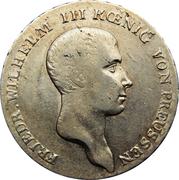 1 Reichsthaler - Friedrich Wilhelm III – obverse