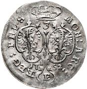 3 Gröscher - Friedrich II. – reverse