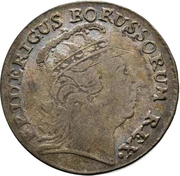 3 Gröscher - Friedrich II. – obverse
