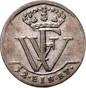 1/12 Thaler - Friedrich Wilhelm I – reverse