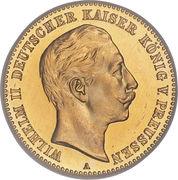 10 Mark - Wilhelm II – obverse