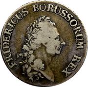 1 Reichsthaler - Friedrich II – obverse
