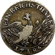 1 Reichsthaler - Friedrich II – reverse