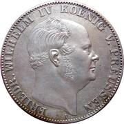 1 Vereinsthaler - Friedrich Wilhelm IV – obverse