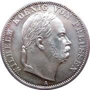 """1 Vereinsthaler - Wilhelm I (""""Siegestaler"""") – obverse"""