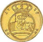 1 Ducat - Friedrich Wilhelm I – reverse