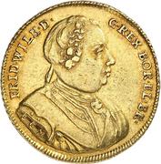 1 Wilhelms d'or - Friedrich Wilhelm I. – obverse