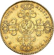1 Wilhelms d'or - Friedrich Wilhelm I. – reverse