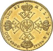 1 Wilhelm d'Or - Friedrich Wilhelm I. – reverse