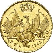 1 Friedrich d'Or - Friedrich II. – reverse