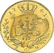 1 Ducat - Friedrich II – reverse