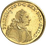 1 Friedrich d'or - Friedrich II. – obverse