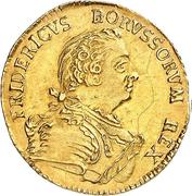 ½ Friedrich d'Or - Friedrich II. – obverse