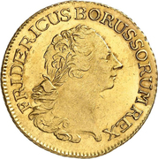 2 Friedrichs d'Or - Friedrich II. – obverse