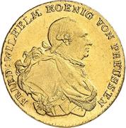 1 Friedrich d'Or - Friedrich Wilhelm II. – obverse
