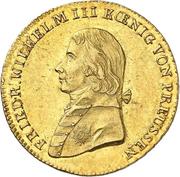2 Friedrichs d'Or - Friedrich Wilhelm III. – obverse