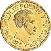 2 Friedrich d'Or - Friedrich Wilhelm III – obverse