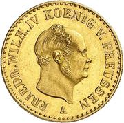 ½ Friedrich d'Or - Friedrich Wilhelm IV – obverse