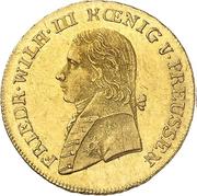 ½ Friedrich d'Or - Friedrich Wilhelm III – obverse