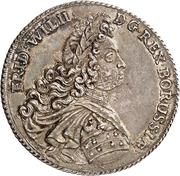 1 Thaler - Friedrich Wilhelm I. – obverse