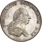 1 Banco Thaler - Friedrich II. – obverse
