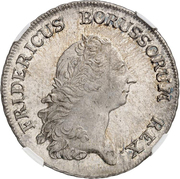 1 Reichsthaler - Friedrich II. -  obverse