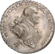 1 Thaler - Friedrich Wilhelm II. (Konventionstaler) – obverse