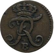 1 Gröschel - Friedrich II. – obverse