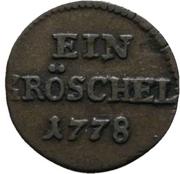1 Gröschel - Friedrich II. – reverse