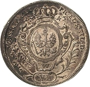 6 Kreuzer - Friedrich II. – reverse