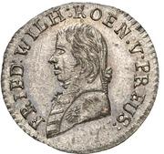 1 Kreuzer - Friedrich Wilhelm III. – obverse
