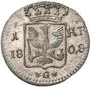 1 Kreuzer - Friedrich Wilhelm III. – reverse