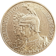 2 Mark - Wilhelm II (Kingdom of Prussia) – obverse