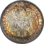 3 Mark - Wilhelm II (Breslau University) – reverse