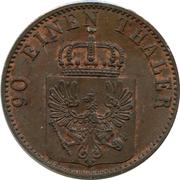 4 Pfenninge - Friedrich Wilhelm IV – obverse