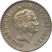 1 Silber Groschen - Friedrich Wilhelm IV – obverse