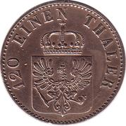 3 Pfenninge - Friedrich Wilhelm IV – obverse