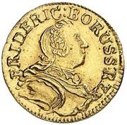 1 Kreuzer - Friedrich II. (Gold Pattern) – obverse