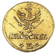 1 Gröschel - Friedrich II. (Gold Pattern) – reverse
