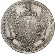 1 Thaler - Friedrich II. – reverse