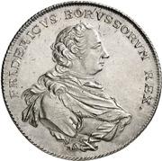 1 Thaler - Friedrich II. – obverse