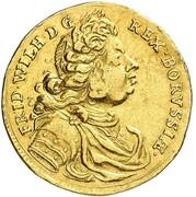 1 Ducat - Friedrich Wilhelm I – obverse
