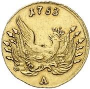 ½ Friedrich d'Or - Friedrich II. – reverse