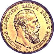 10 Mark - Friedrich III – obverse