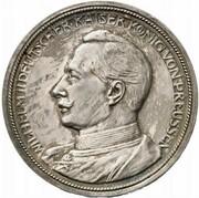 5 Mark - Wilhelm II. (Pattern) – obverse