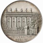 3 Mark - Wilhelm II. (University of Berlin - Pattern) – obverse