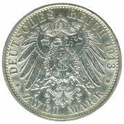 2 Mark - Wilhelm II (Reign) – reverse