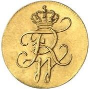 1 Pfennig - Friedrich Wilhelm III. (Gold Pattern) – obverse